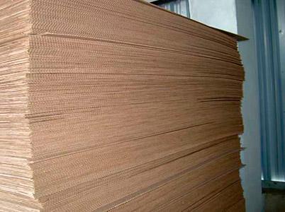 Cogurated cardboard -