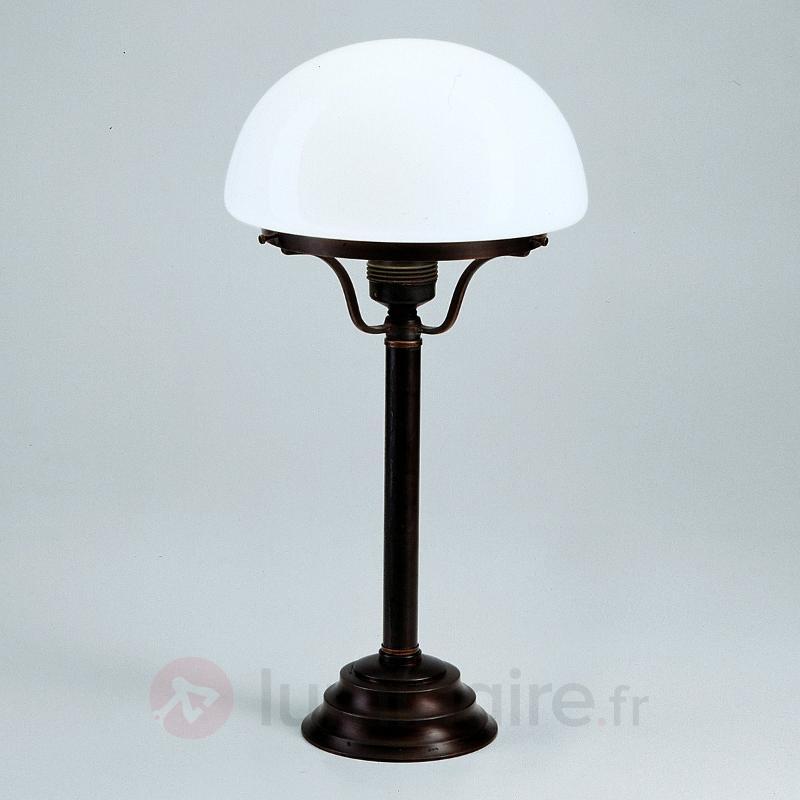 Lampe à poser Frank avec un style antique-rustique - Lampes à poser classiques, antiques