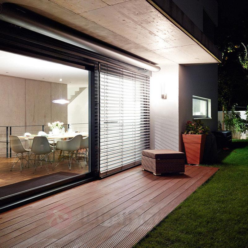 Applique extérieure solaire à capteur L 260 LED - Appliques d'extérieur avec détecteur
