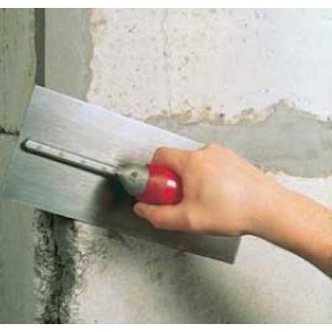 Mortier de réparation béton - Concrex Vertical 10 kg gris Truelle de 14 cm