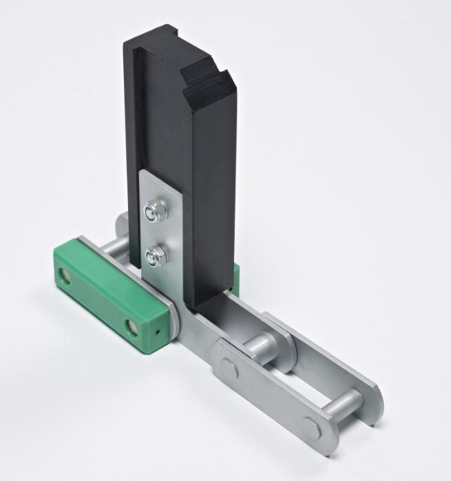 Mitnehmer aus thermoplastischen Kunststoffen - Mitnehmer mit geringem Reibungswiderstand und geringer Geräuschentwicklung