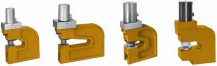 Hydraulik-Locheinheiten, doppeltwirkend - Lochbereich: 2–13 mm 8–25 mm 25–40 mm 40–63 mm