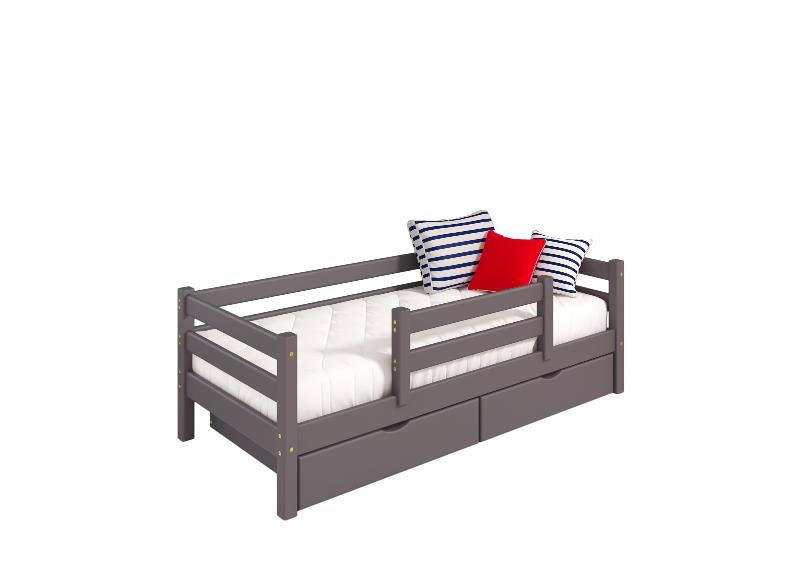 """Option 4 Bed """"Sonya"""" Lavender With Center Protection - Children's room furniture"""