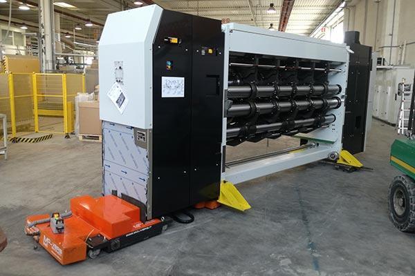 Movimentazione macchinari industriali - attrezzature dedicate