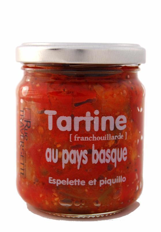 Tartine Franchouillarde au pays Basque 185g - Epicerie salée