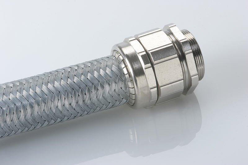 Hose cable glands for more extensive cable protection - Hose cable glands for more extensive cable protection
