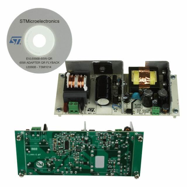 BOARD EVAL SMPS FOR L6566B - STMicroelectronics EVL6566B-65W-QR