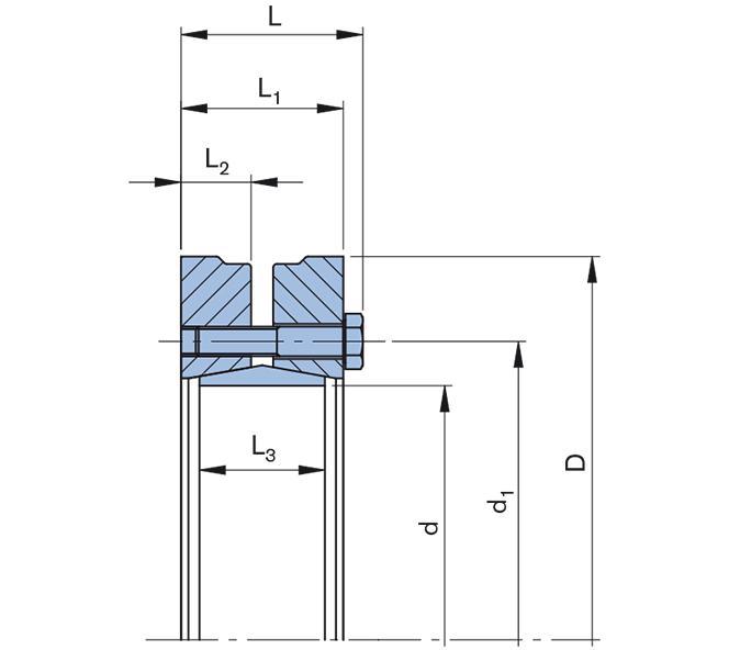 Shrink Disc Standard Series/split - RfN 4061