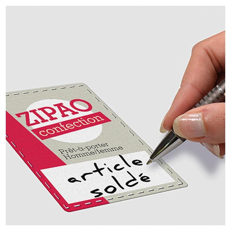 Étiquettes textiles - Étiquettes spéciales