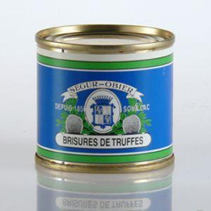 Truffle Cracks - (tin 25 g, tin 50g)