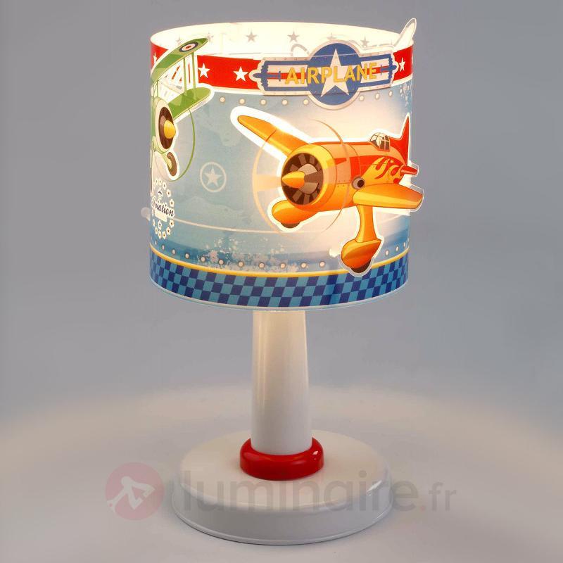Lampe de chevet Airplane pour enfants - Chambre d'enfant