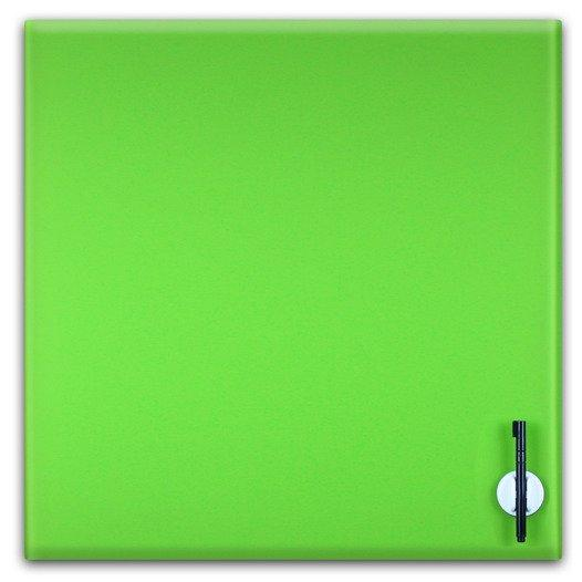 Glas Magnettafel 45x45cm Farbe: Limegreen - null