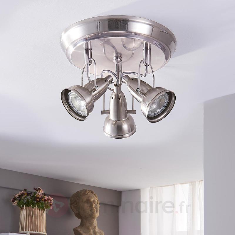 Femie - plafonnier LED à trois lampes, GU10 - Spots et projecteurs LED