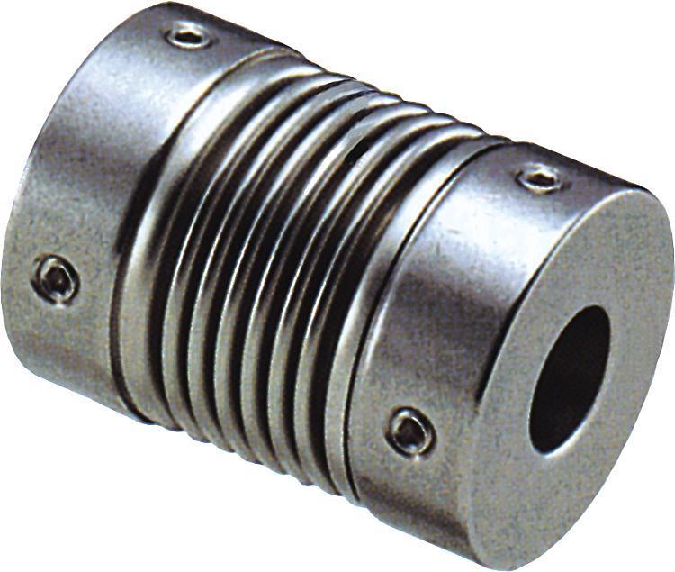 Accouplement à soufflet métallique serrage par vis HC - Accouplements
