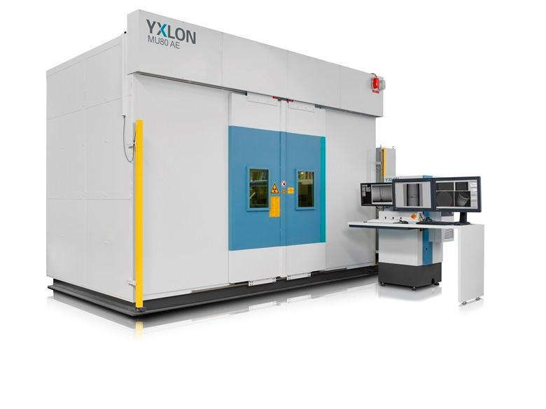 YXLON MU80 AE - Industrielles Röntgen- und CT-Prüfsystem