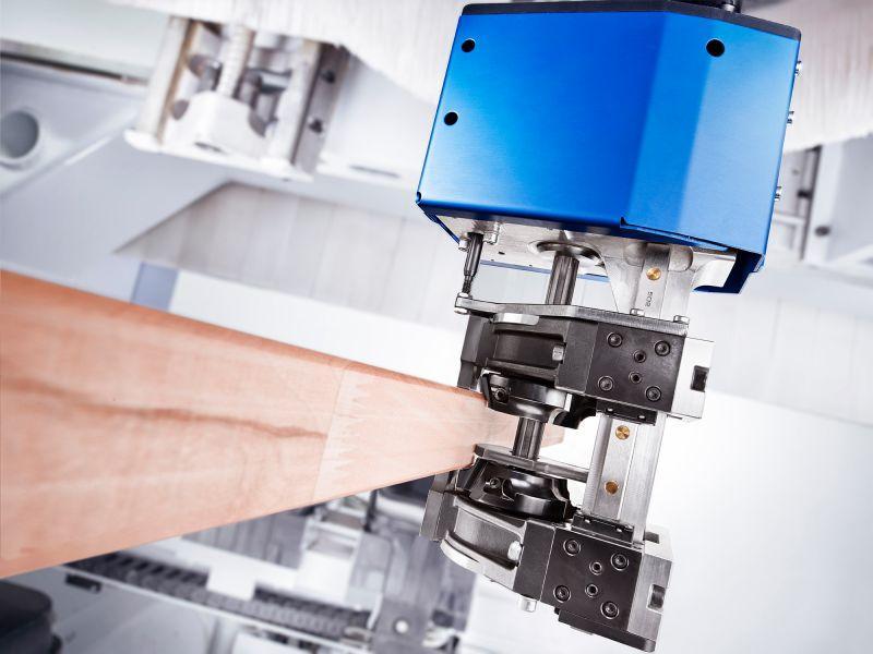 Bündigfräsaggregat LIVELLO - CNC Aggregat zur Bearbeitung von Holz, Verbundwerkstoff und Aluminium