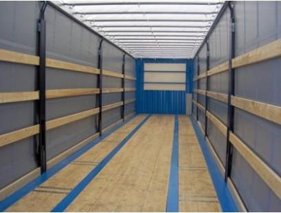 Steel Van / Curtain Side Swap Body - Designed and built for European intermodal transport (road / rail / sea) of good