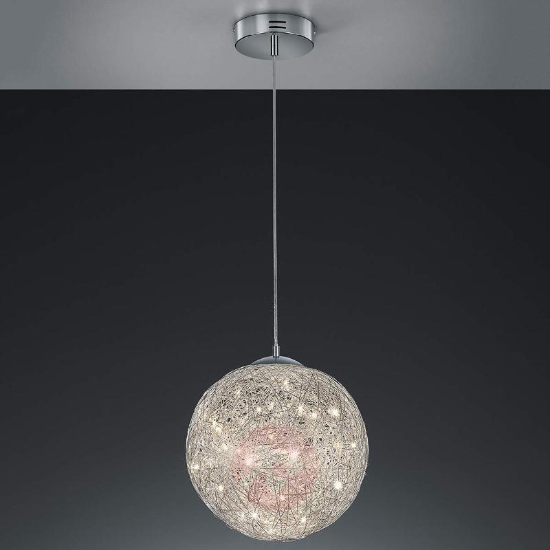 Thunder - breath-taking LED pendant light Ø 40 cm - Pendant Lighting