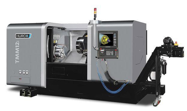 Drehmaschine - TMM 12i - Die ideale Maschine für die Dreh-Bearbeitung mittelgroßer Teile