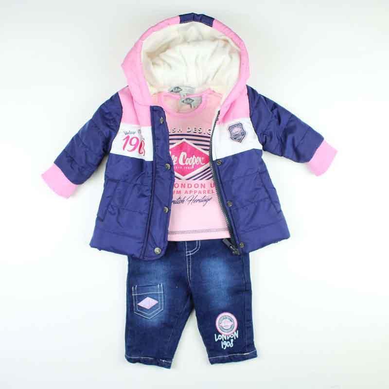 Großhandel baby kleidungsets Lee Cooper - Winter Set