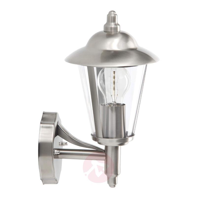 Attractive outdoor wall light Neil I - stainless-steel-outdoor-wall-lights