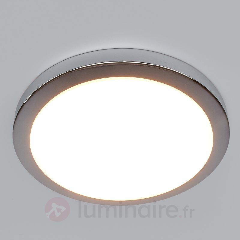 Plafonnier de salle de bain LED Aras, chromé - Salle de bains