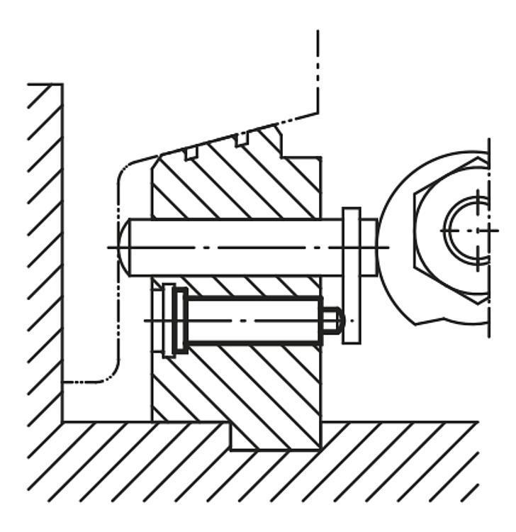 Flexibles Normteilesystem - Federnde Druckstücke mit Kopf