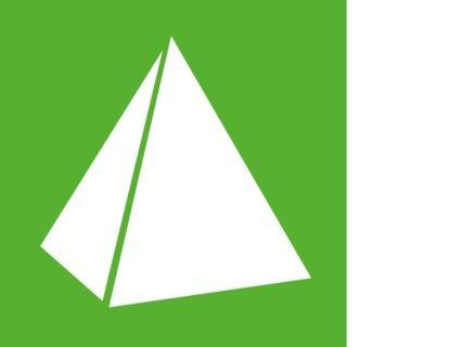 Bedruckte Kartonpyramiden - null