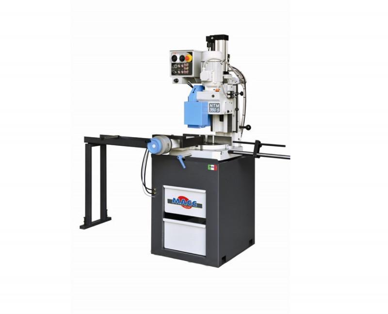 NTM 350 S – Halbauto Metallkreissäge - MACC NTM 350 S – Halbautomatische Metallkreissäge