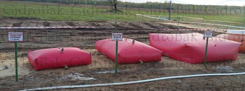 Fire tanks - Fire tanks GidroBak