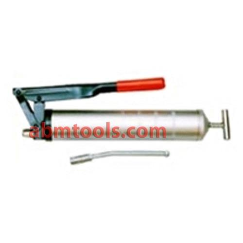 Grease Gun Lever Type - With Steel Head 15 Oz - A grease gun is a common workshop and garage tool used for lubrication.