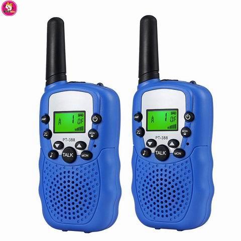 Mini pocket walkie talkie wo way radio for kids - Electronic Toys