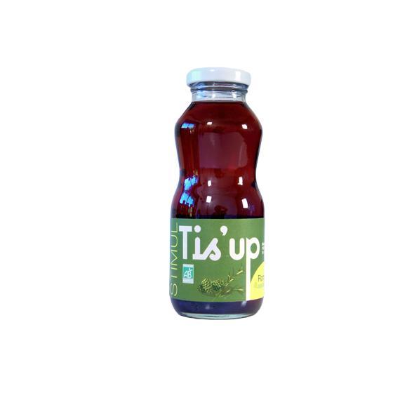 Tis'Up : boisson Bio aux plantes 'Stimul'' 25cl - Boissons