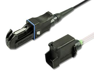 HE-2000™ fiber optic connector - Harsh Environment Push-Pull fiber optic connector
