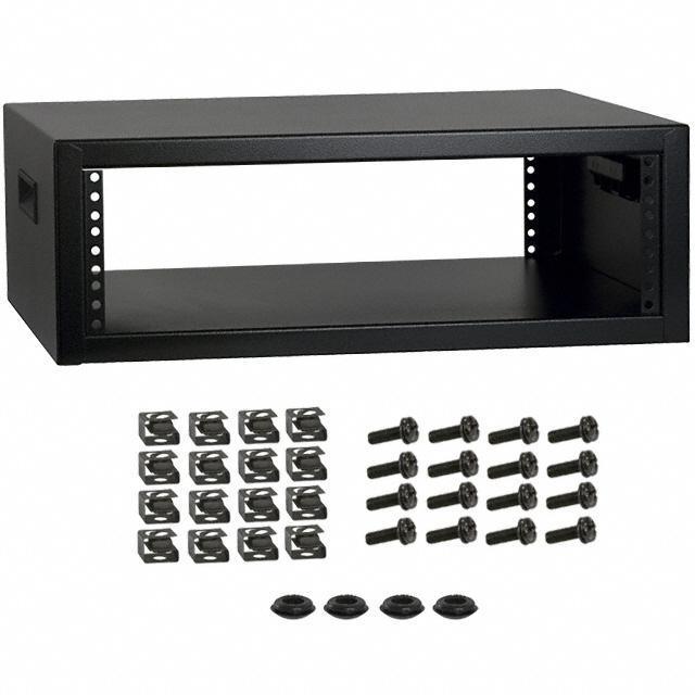 RACK STEEL 17.5X21X7.25 BLK - Hammond Manufacturing RCBS1900517BK1