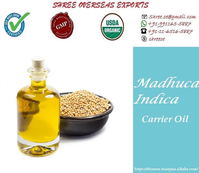 Organic Madhuca Indica Oil - USDA Organic