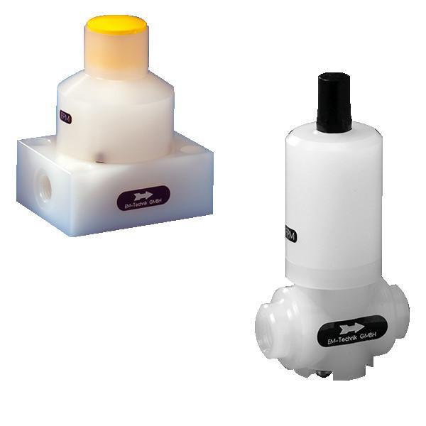 Vanne de maintien de la pression 5D - La vanne permet d'éliminer les surpressions dues au travail ou au système.