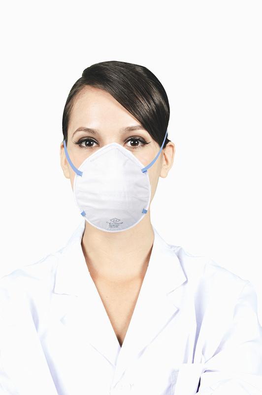 Disposable FFP2 respirator mask