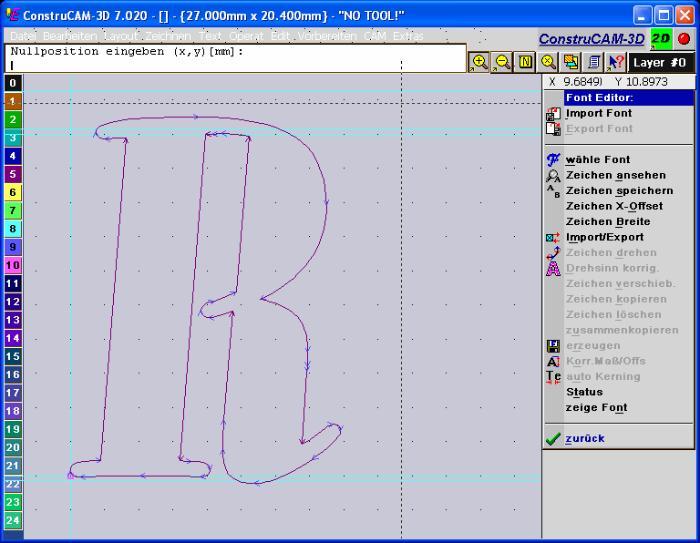 ConstruCam-3D - CNC-Software / CAD CAM Software / JPG & BMP / Fotogravursoftware
