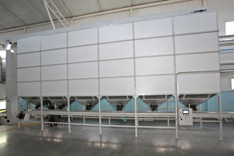 Storage system BPH 13 - PROCESSING EQUIPMENT FOR THE PASTA INDUSTRY