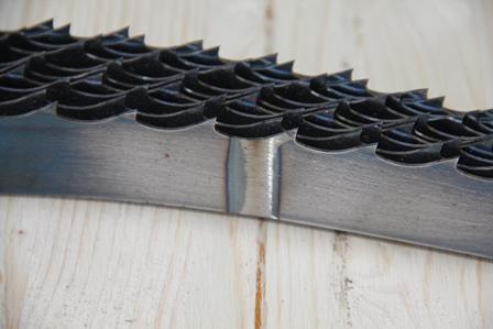 Ленточные пилы по дереву - Изготовлены в России на нашем производстве