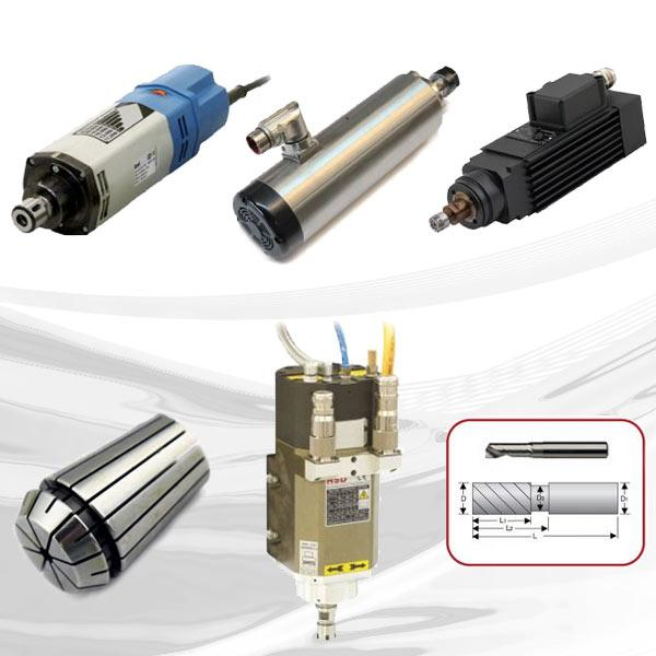 Machine Accessories - isel provides all the components for CNC systems from one source