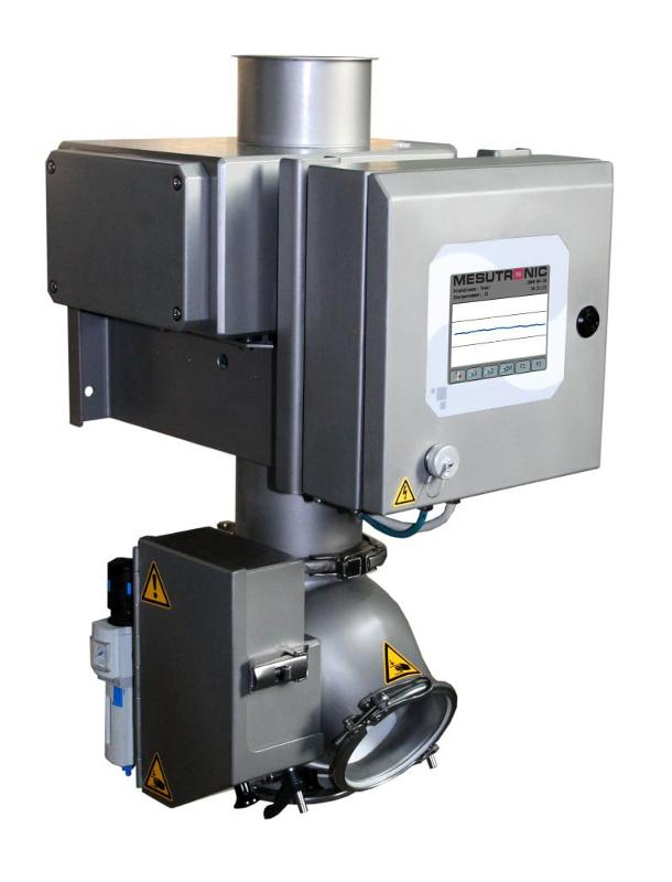Metal separator for inspection of bulk goods. The separator - QUICKTRON 07 RH HyQ Clean