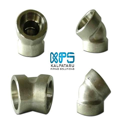 DUPLEX STEEL FORGED FITTINGS  - DUPLEX SOCKETWELD FITTINGS - DUPLEX THREADED FITTINGS - ASTM A182 / ASME SA182
