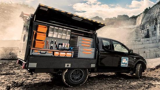 Allestimenti Pick Up per l'off-road: cellula Discover 4WD - Allestimento cassone pick up con cellula realizzata in acciaio galvannealed auto