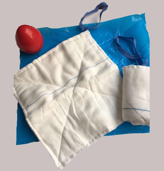 Abddominal Gauze Lap Sponges with natural cotton - Non Woven