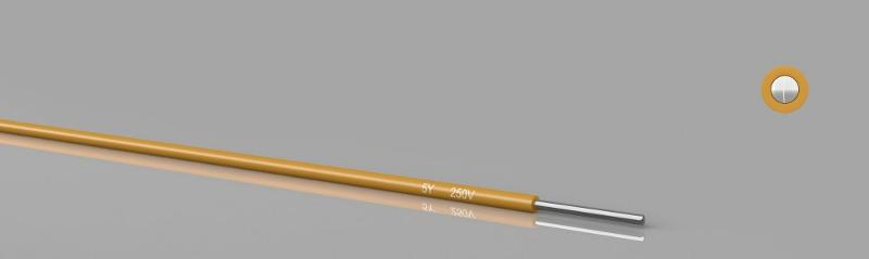 Temperature resistant cables - 5Y PTFE solid wire 250V