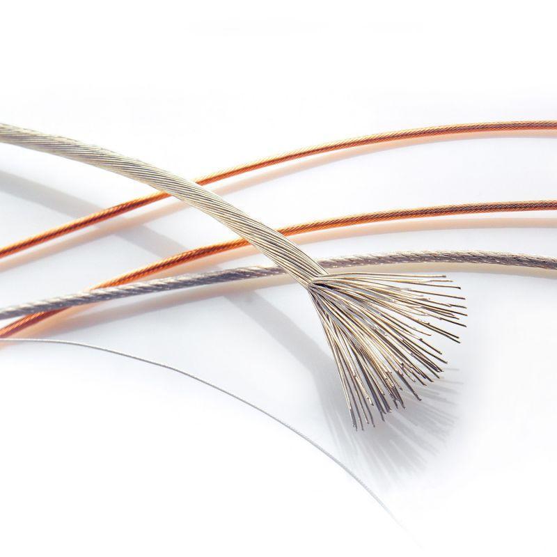 Bündellitze - Mehrere miteinander verwürgte Einzeldrähte oder Drahtbündel