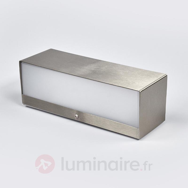 Applique LED Alicja en inox - Appliques d'extérieur LED