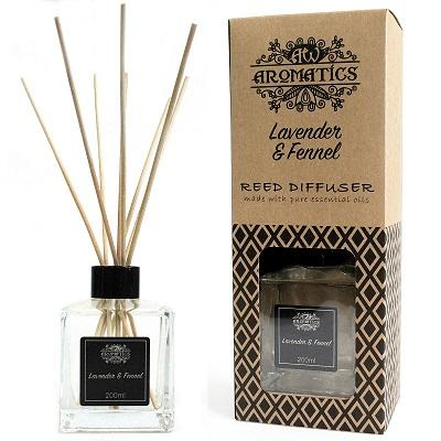 Pure Essential Oils Reed Diffusers - Wholesale Pure Essential Oils Reed Diffusers - 200ml